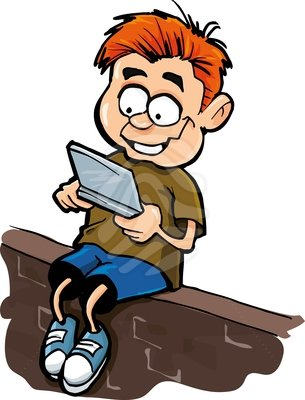 cartoon-of-boy-playing-a-hand-held-computer-gamer-isolated-clipart-83383855